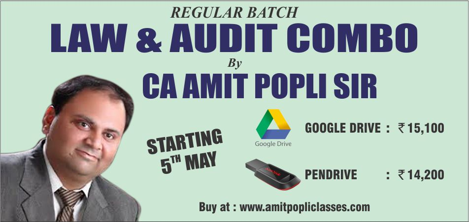 CA Intermediate Group 1 - Corporate & Other Laws & Audit Combo